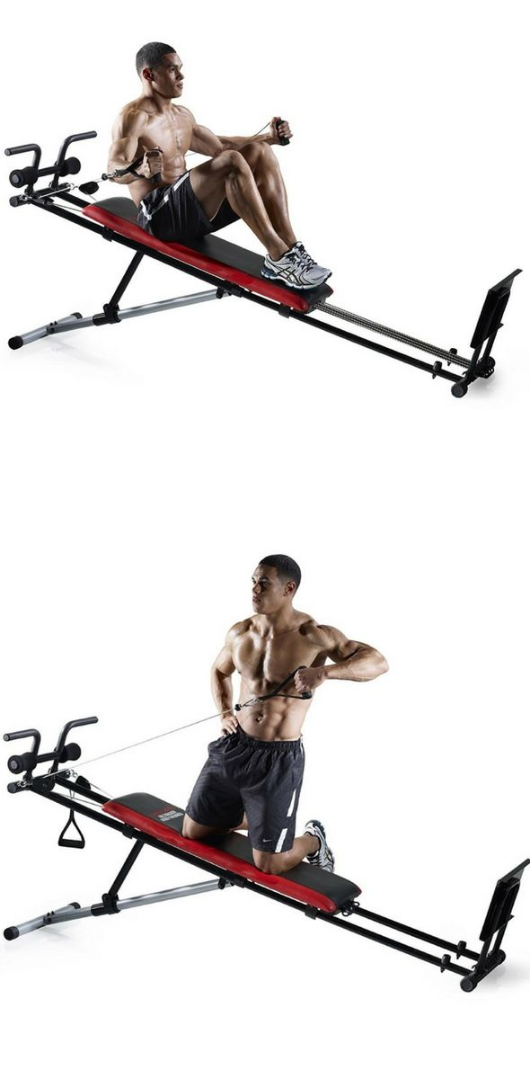 Weider Ultimate Body Works | workouts | Total gym workouts, Bowflex