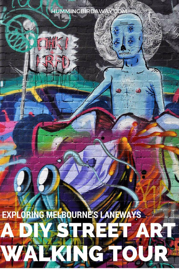 Exploring Melbourne's Laneways: A DIY Street Art Walking Tour