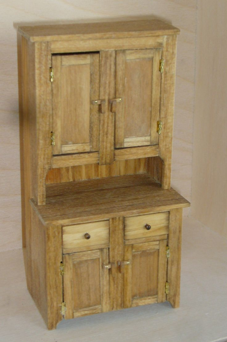 Dollhouse country cupboard
