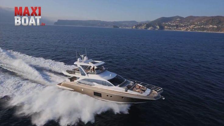 Essai AZIMUT 66 au Cannes Yachting Festival