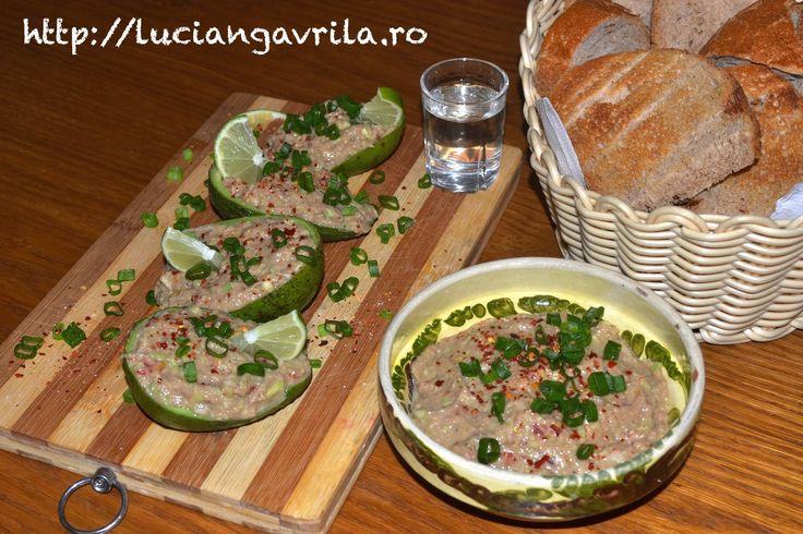 Guacamole cu ton