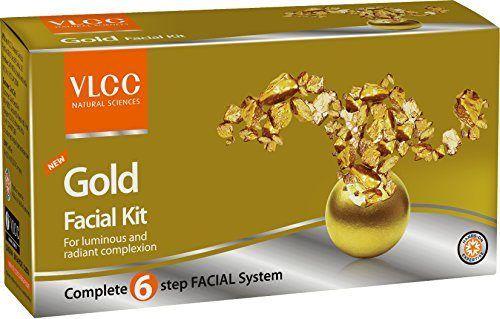 VLCC Gold Facial Kit 60gm At Rs.150 From Amazon