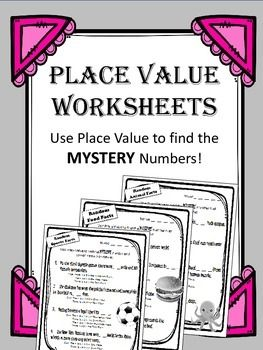 1000+ ideas about Place Value Worksheets on Pinterest | Tens and ...