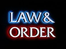 Law & Order is an American police procedural and legal drama tv series, created by Dick Wolf. It originally aired on NBC and, in syndication, on various cable networks. Law & Order premiered in 1990, and completed its 20th and final season in 2010. At the time of its end, Law & Order was the longest-running crime drama on American primetime tv. After The Simpsons,  Law & Order and Gunsmoke tied for the 2nd longest-running scripted American primetime series with ongoing characters