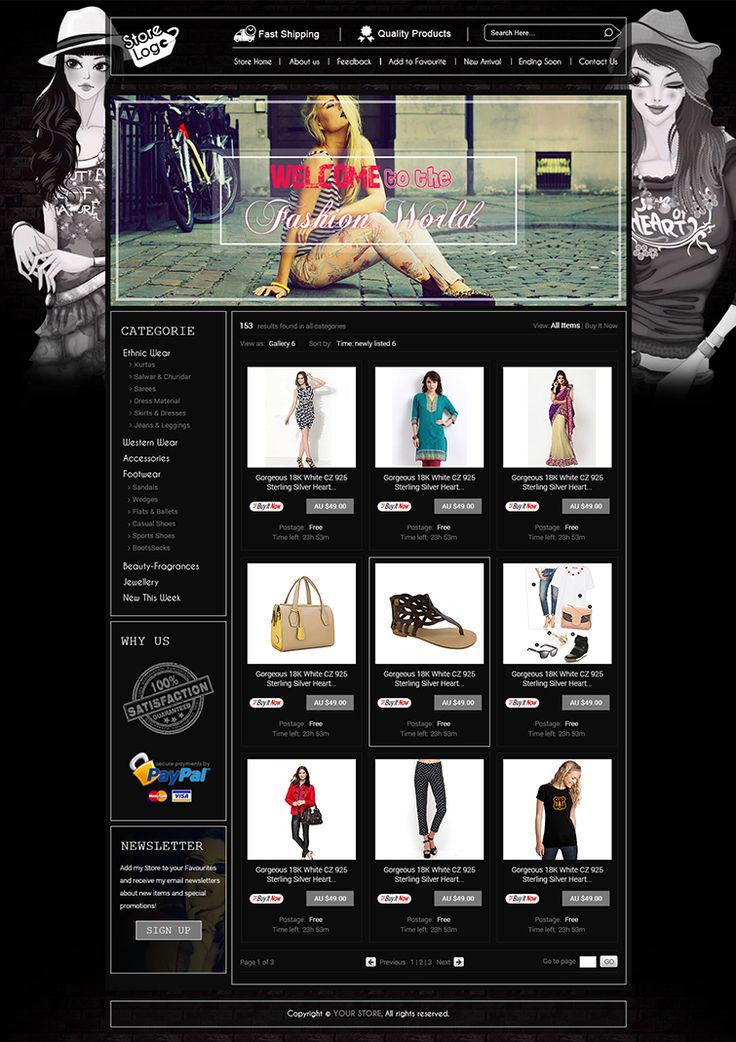 13 best ebay store listing template images on pinterest auction advance ebay store design template and listing auction html templates pronofoot35fo Image collections