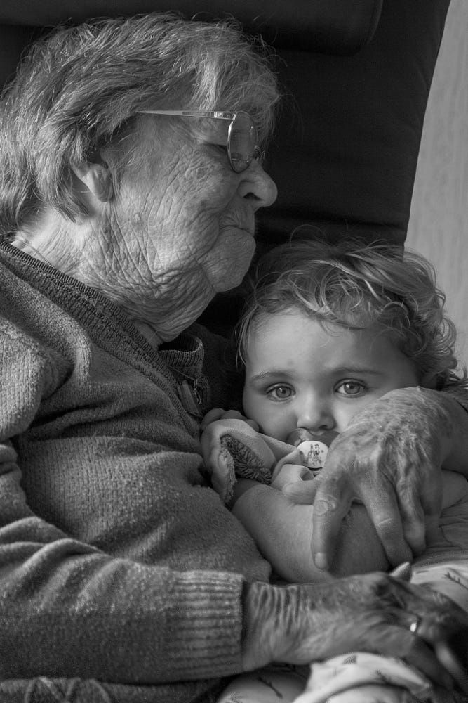 91 year age difference by Martijn Eilander on 500px