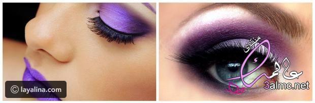 المكياج البنفسجي آخر صيحات الميك اب في صيف 2020بالخطوات 2020 Drugstore Makeup Tutorial Beauty Box Subscriptions Dramatic Eyes