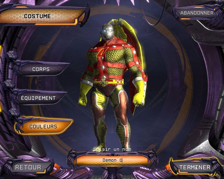 Image DC Universe Online PC - 572 - Espérons que vous soyez plus inspiré pour la création de votre personnage...