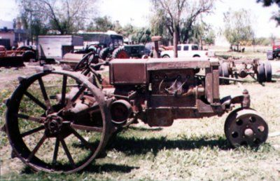 Old Case tractor
