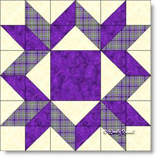 Mother's Choice quilt block image © Wendy Russell