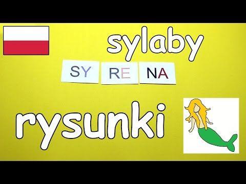 AbcZabawa - Nauka sylab z rysunkami po polsku [abc zabawa] - YouTube