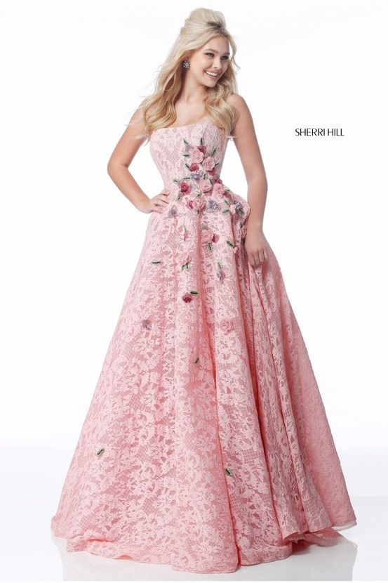 864 best Sherri Hill images on Pinterest | Party wear dresses, Cute ...