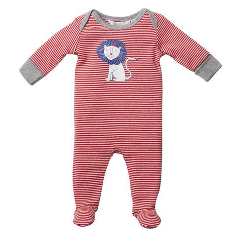 Fox & Finch Baby Britannique FW14-2125 Red-Cream Marl Brit Striped Rom – Sweet Thing Baby & Childrens Wear #Winter #Cloth #Boy sweetthing.com.au