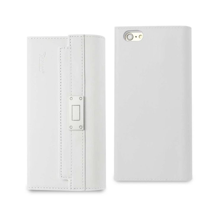 Reiko iPhone 6S Plus Genuine Leather RFID Wallet Case And Metal Buckle Belt In Ivory //Price: $60.99 & FREE Shipping //     #mobileaccessories #phonecases