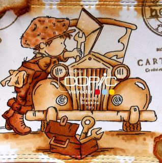 Blankina creations: Under the bonnet LOTV Copic Italia DT post