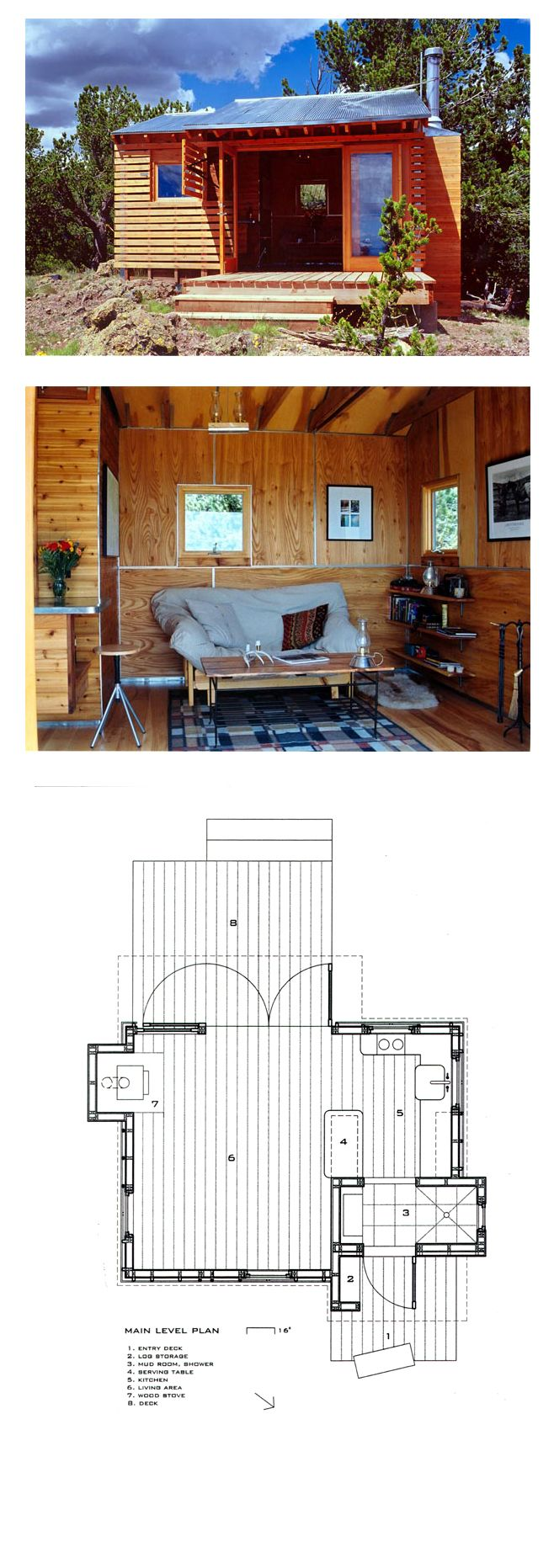 Cabin House Plan 69800 57 best Tiny