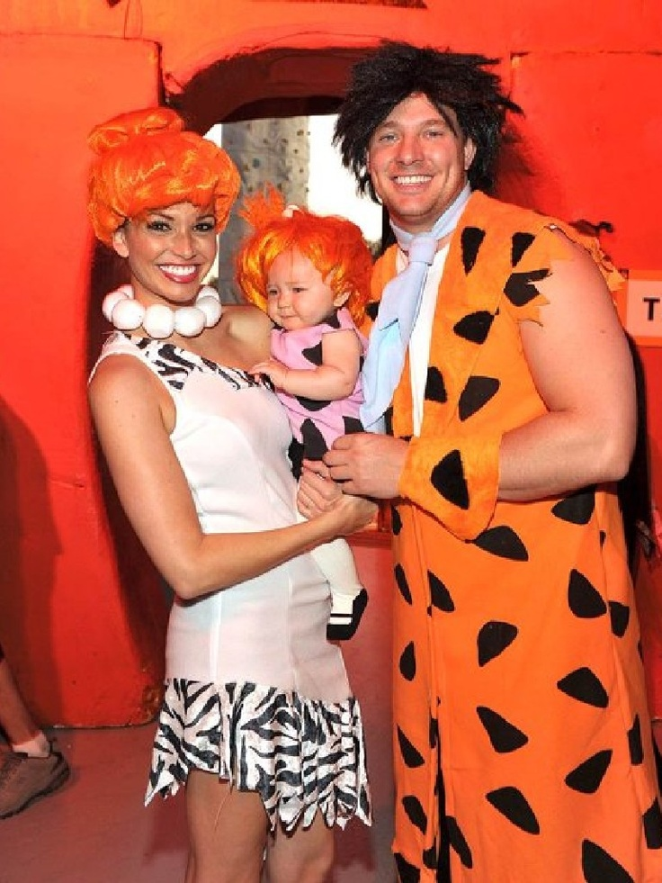 Flintstones Halloween Costume 2011