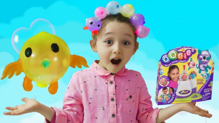 ÖYKÜNÜN SİHİRLİ BALON MAKİNESİ Oonies Animal Balloon Like Bubbles Machin...