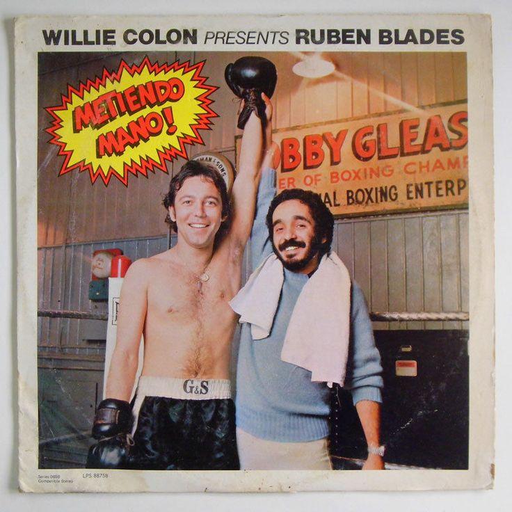 Willie Colon & Ruben Blades Metiendo Mano 77' Latin Salsa Record LP EX Venezuela #Salsa