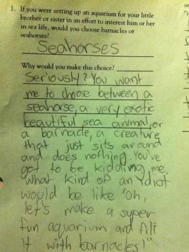 kids are hilarious