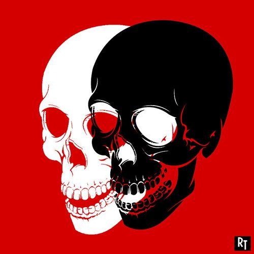 Twin skulls by Renee87 on DeviantArt