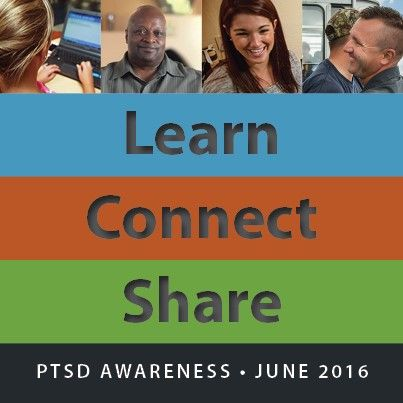 Today is National PTSD Awareness Day! Do your part to help those in need of help find the resources they need!