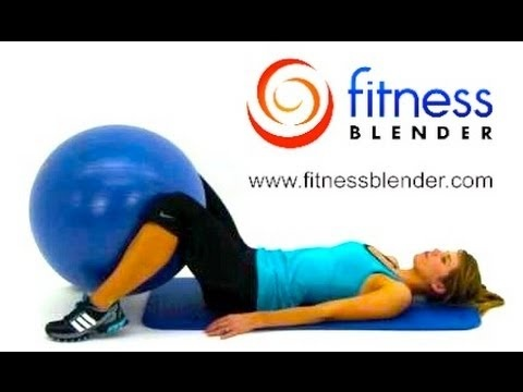 I just did this after my run. Holy smokes! $9 Gold's Gym Body ball + this = DEEP BURN IN 10 MINUTES! Total Body Exercise Ball Workout Video - Express 10 Minute Physioball Workout Routine