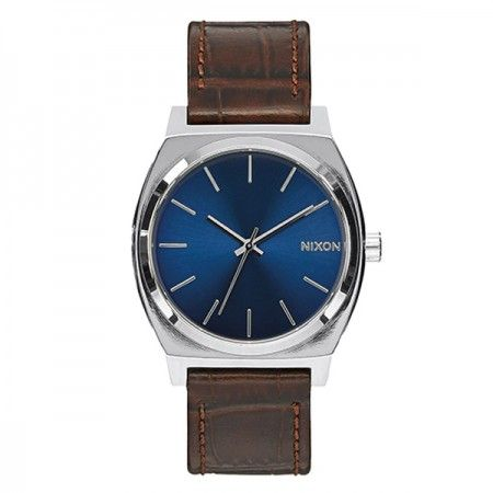 A0451887 Nixon Time Teller Brown Gator  Visit our store: www.watchworldindonesia.com