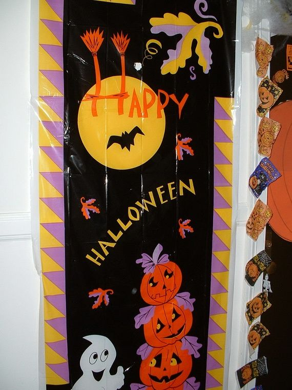 cute ideas halloween door decorating d co de porte pinterest
