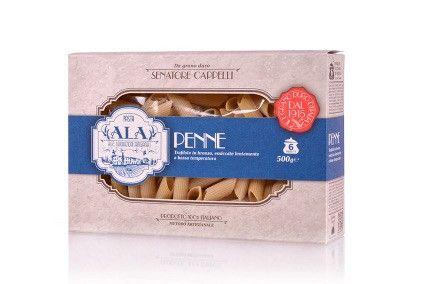 Pasta Senatore Cappelli wheats PENNE - ALA & Carla LATINI