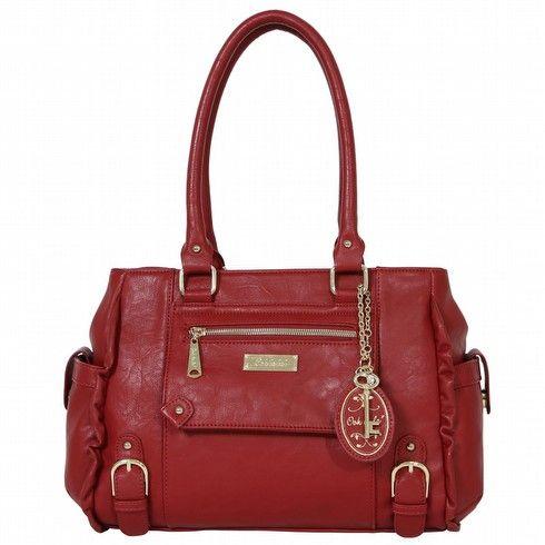 Ooh La La - Ooh La La Bags | Oohlala Handbags | Oohlala Designer Handbags | Oohlala Accessories | Oohlala Jewellery - OL-0009 CALAIS FRILL EDGE TOTE BAG