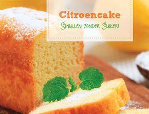 Smullen zonder Suiker: vandaag recept 2: citroencake van amandelmeel gezoet met honing