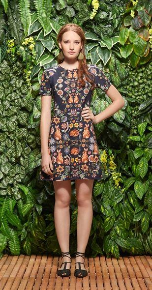 Só na Antix Store você encontra Vestido Floresta Encantada com exclusividade na internet