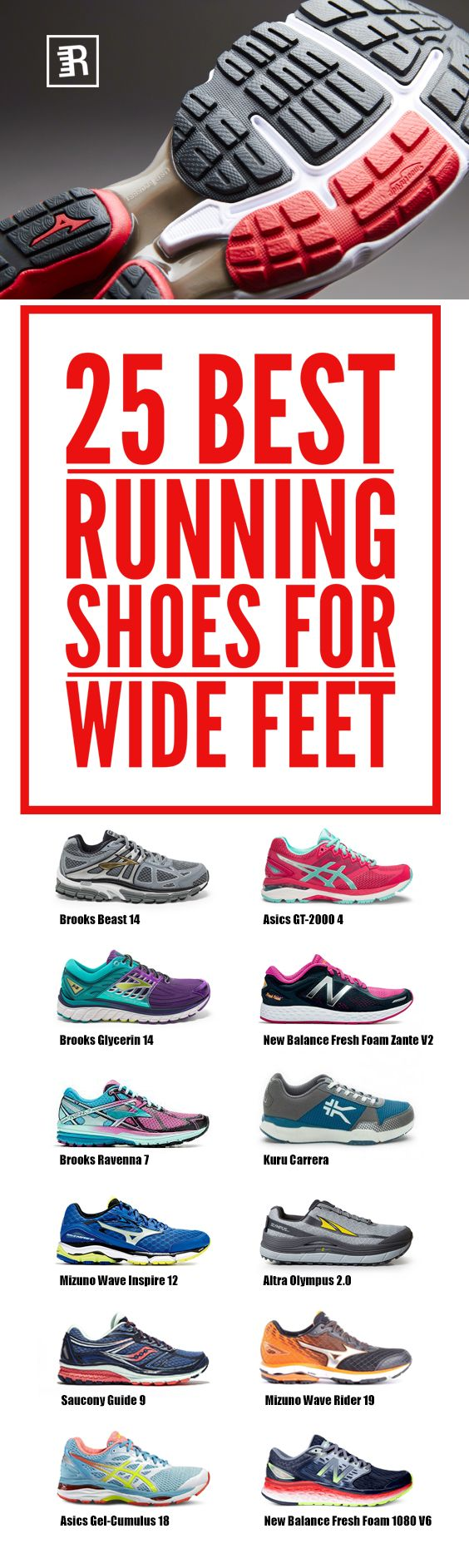 Got Wide feet? No problem.   We have crafted the ultimate list so you can learn how to choose the best wide running shoes for men and women. Expand your options for discovering a world of comfort, stability, and to increase your running power.