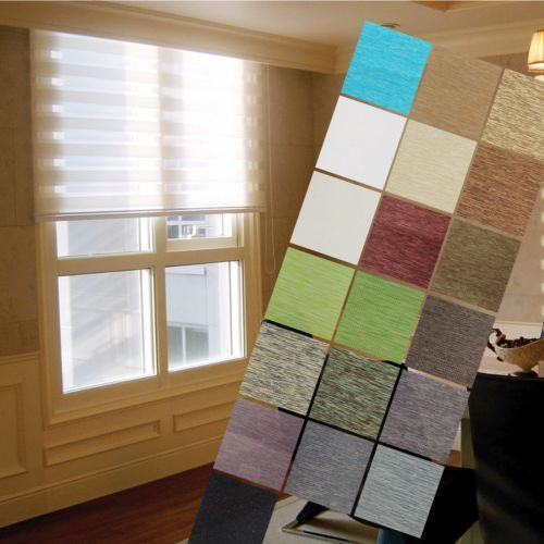 Details About B C Double Roller Blind Shade Home Window Blind Custom Made To Order Sheer Shade