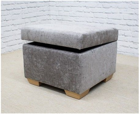 Your perfect storage footstool or cube. Handmade to order in a range of sizes, fabrics and legs. British made storage solutions for your home. Free UK Delivery