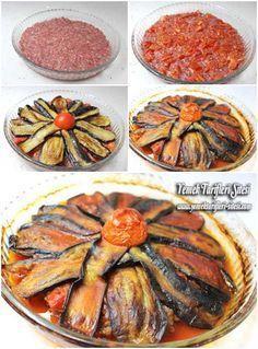 Patlıcanlı Tepsi Kebabı Tarifi