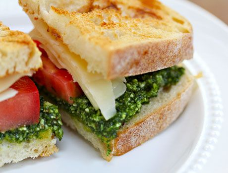 Kale Pesto, Tomato And Fontina Sandwich Recipes — Dishmaps