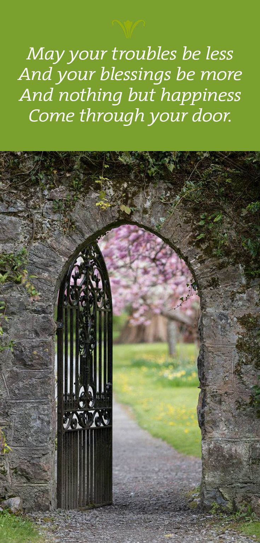75 best irish sayings images on pinterest irish proverbs for Garden design quote