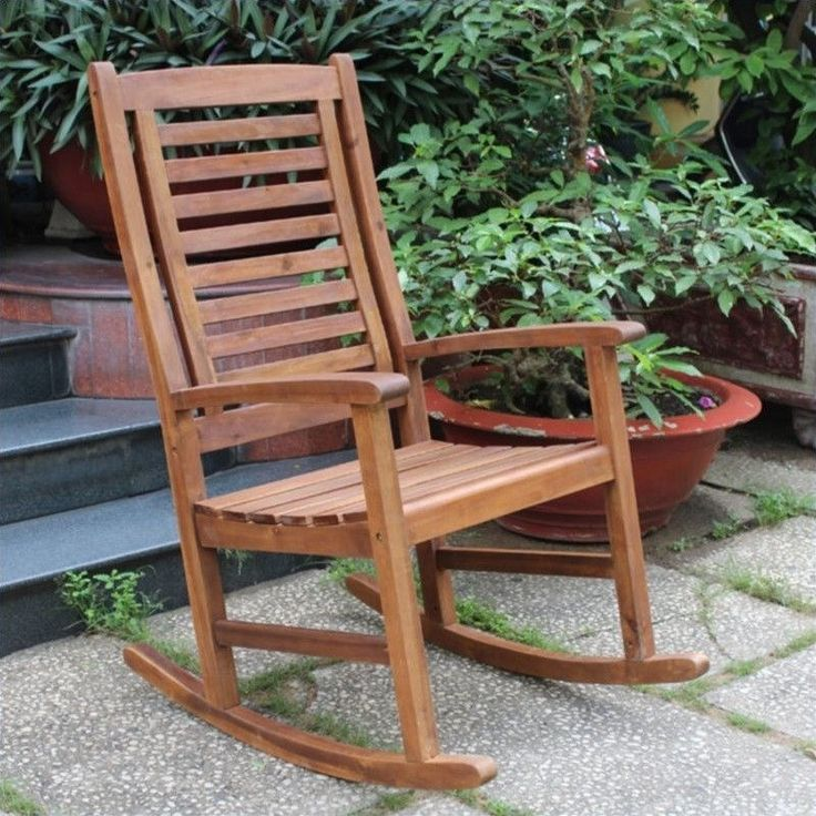 we'd need 2 -- one for me and one for Ken! International Caravan Palmdale Contemporary Outdoor Rocking Chair
