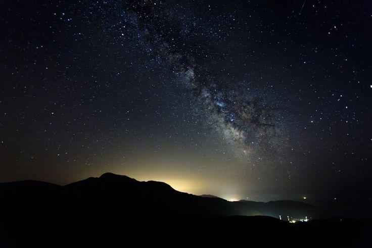 Milky Way from Capu Rossu