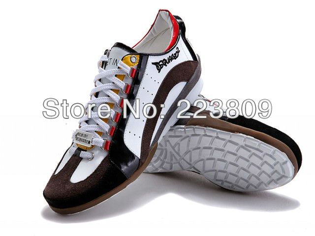 2013 New Arrival Dsquared2 Fall/Winter Men's Sneakers Casual Shoes Suede