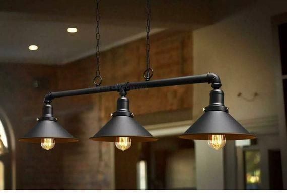 Industrial Style Light Fixture In 2020 Ceiling Light Fittings