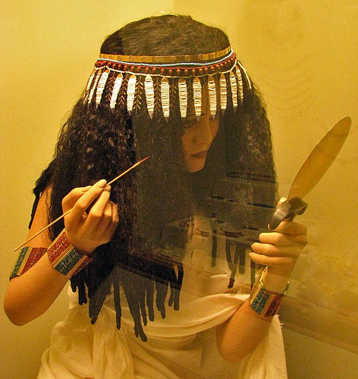 Ancient Egyptian Women | beauty means of an ancient Egyptian Woman
