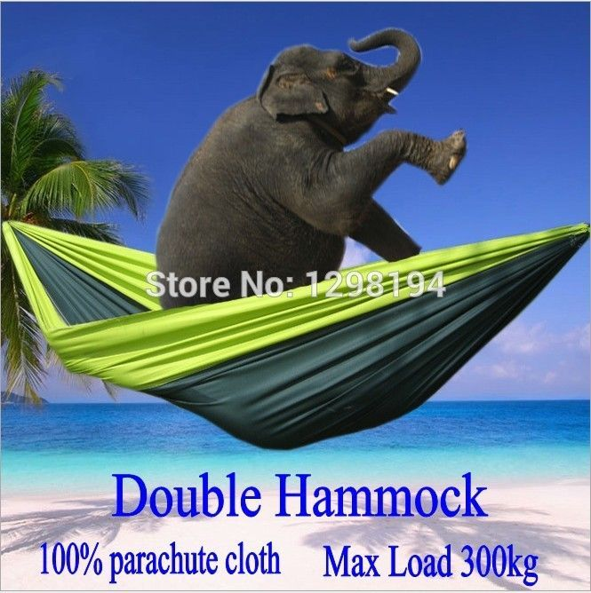 Compare Price Portable Nylon Parachute Double Hammock Garden Outdoor Camping Travel Furniture Survival Hammock Swing Sleeping Bed For 2 Person #Portable #Nylon #Parachute #Double #Hammock #Garden #Outdoor #Camping #Travel #Furniture #Survival #Swing #Sleeping #Person