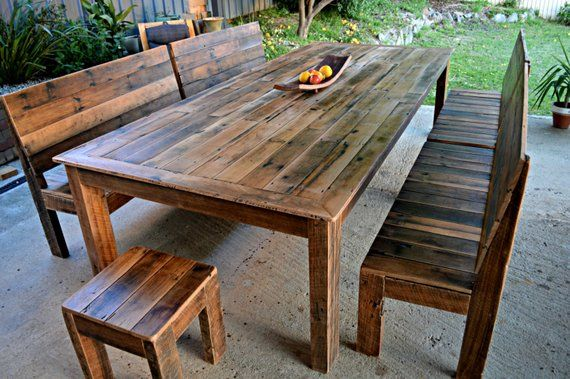 Swell Large 3 X 1 2 Metre Recycled Timber Slatted Dining Table Creativecarmelina Interior Chair Design Creativecarmelinacom