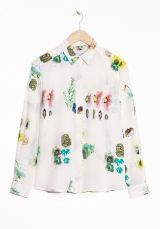 & Other Stories | Herbarium Silk Shirt