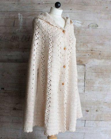 CAPE CROCHET IRISH PATTERN - Crochet — Learn How to Crochet