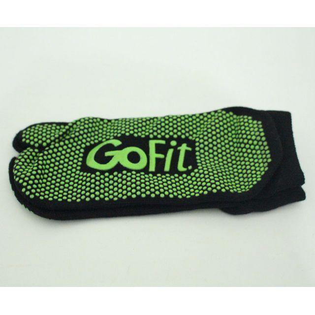 Gofit Yoga Socks atau kaos kaki yoga Gofit dirancang untuk meningkatkan stabilitas dan keseimbangan karena terdapat grip anti slip yang cocok digunakan untuk yoga atau pilates.