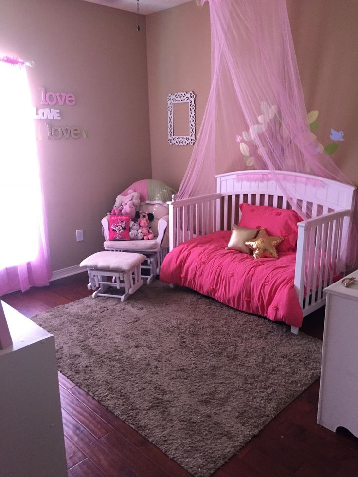 Amelia S Room Toddler Bedroom: Princess Bedroom. Toddler Girls Bedroom. DIY. Pink. Love